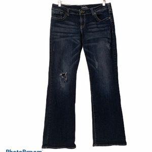 Vanity Distressed Bootcut Tyler Jeans
